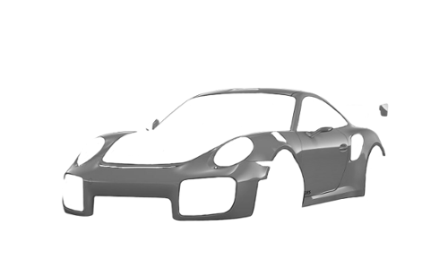 Цвета кузова 911 GT2